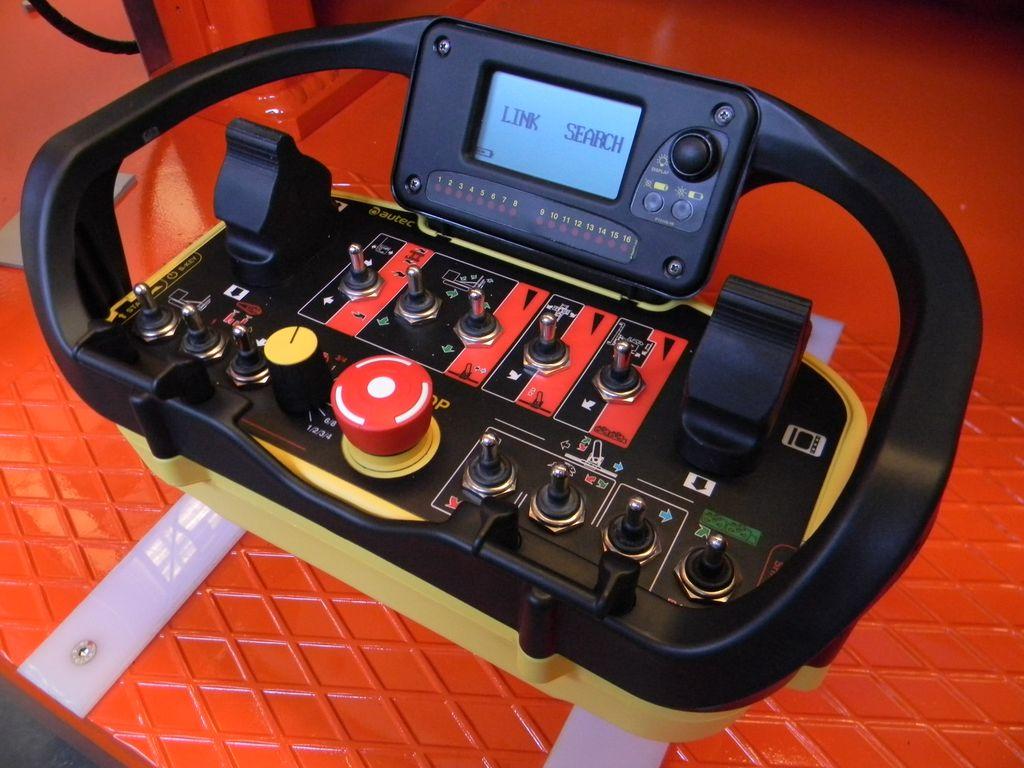 AUTEC radio remote contol, for Fantini Chain Saw Machines