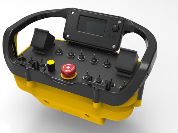 chain saw machine radio remote control